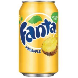 Фанта ананас 0,33 ьжб