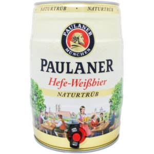 Paulaner Hefe-Weissbier Naturtrub 5