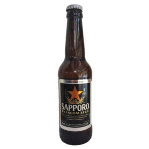Sapporo in can 0,33