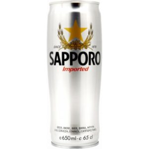 Sapporo in can 0,65