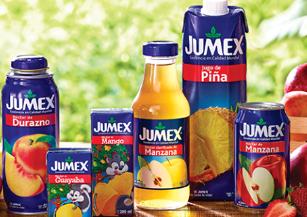 Соки и нектары Jumex - натуральность и полезные свойства